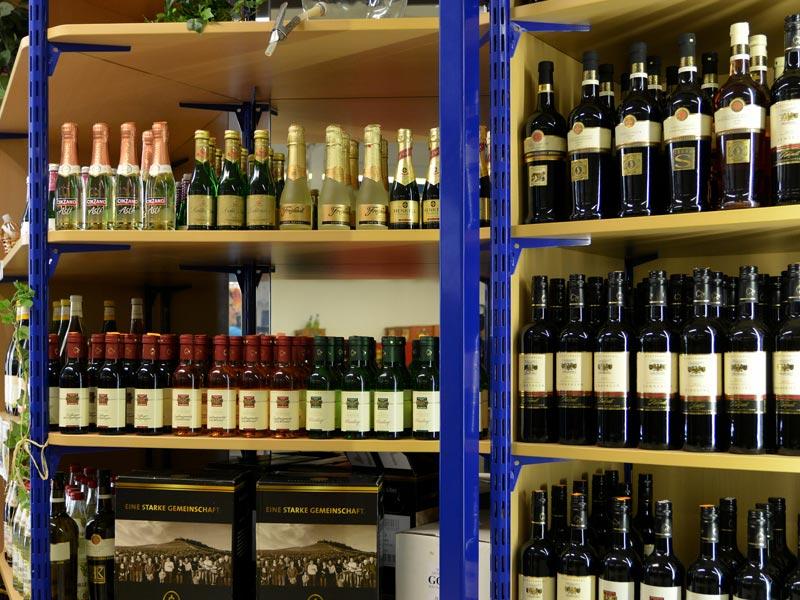 Getränke Geckeler: Unser Wein und Sekt